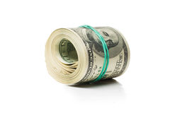 Pack of banknotes Stock Photos