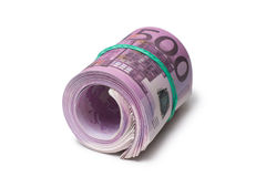 Pack of banknotes Stock Images
