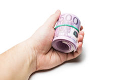 Pack of banknotes Stock Photo