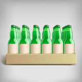 Pack bottles Royalty Free Stock Images
