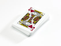 Pack of cards Stock Photo