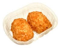 Pack Of Chicken Kiev Stock Photos