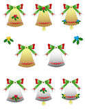 Pack Christmas Bells Royalty Free Stock Image