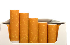 Pack of cigarettes. Royalty Free Stock Photos