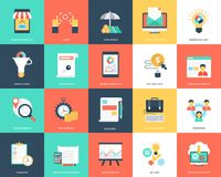 Project Management Flat Icons Pack. The pack of creative and unique flat icons belonging to the category of project management. Visuals in the set are clean Stock Images