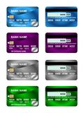 Pack Of Credit Card 02. Pack Of bank Credit Card Stock Images