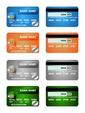 Pack Of Credit Card Royalty Free Stock Photo