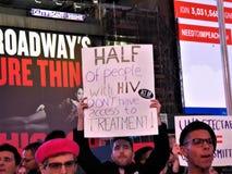 PACK, das wir noch sterben, unterstützt Protest NYC am 29. November 2017 Stockfoto