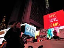PACK, das wir noch sterben, unterstützt Protest NYC am 29. November 2017 Lizenzfreies Stockfoto