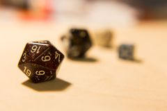Pack of dices Royalty Free Stock Images