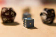 Pack of dices Stock Photography