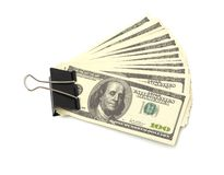 Pack dollars Royalty Free Stock Photos