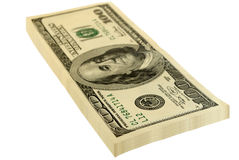 Pack of the dollars. Stock Photography