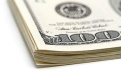 Pack of dollars. Royalty Free Stock Images