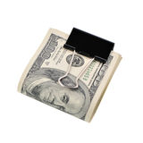 Pack dollars isolated Royalty Free Stock Photography