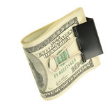 Pack dollars isolated Stock Photo