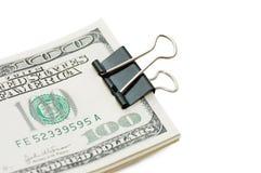 Pack dollars isolated on white background Royalty Free Stock Image
