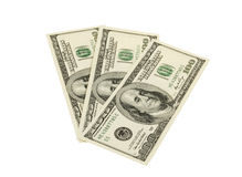 Pack of dollars Stock Images