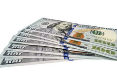 Pack of dollars Royalty Free Stock Photography