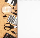 Pack of dollars. On a white background. Stock Photo