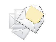 Pack envelope_2 Royalty Free Stock Images