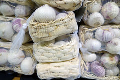Pack of garlic Royalty Free Stock Photography