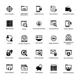 Web and Graphic Designing Solid Icons Design Set Stock Photos