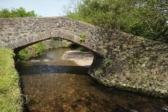Pack Horse Bridge Royalty Free Stock Image