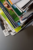 Pack of magazines royalty free stock image