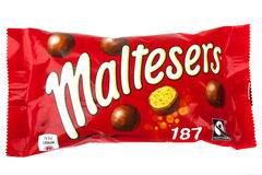 Pack of Maltesers Stock Photography