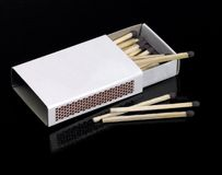 Pack of matches Stock Photo