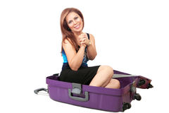 Pack me! Royalty Free Stock Photos