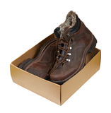Pack with  men boots Royalty Free Stock Photography