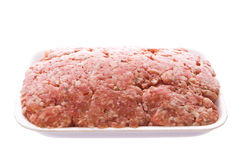 Pack of minced meat Royalty Free Stock Images