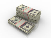 Pack of money Stock Image