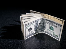 A pack of money Stock Photos