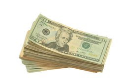 Pack of money Royalty Free Stock Photos