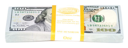 Pack of money Royalty Free Stock Image