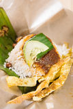 A pack of nasi lemak Royalty Free Stock Photography
