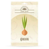 Pack of Onion seeds icon Stock Image