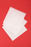 Pack of paper napkins Stock Photos