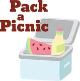 Pack Picnic Stock Photo