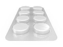 Pack of pills Royalty Free Stock Photography