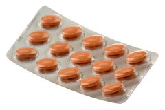 Pack of pills Stock Photo