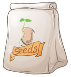 A pack of plant seeds Stock Photos
