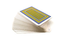 Pack of playing cards Stock Photos