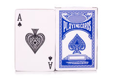 Pack of playing cards Royalty Free Stock Image
