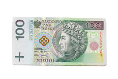 Pack of polish zloty Royalty Free Stock Photography
