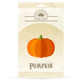 Pack of Pumpkin seeds Stock Photos