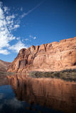 Pack Rafting Glen Canyon, Arizona Stock Photography